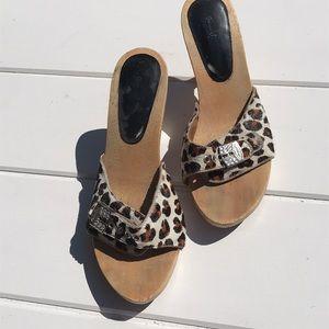 Shoes - Dr Scholl's Tigress sandals LEOPARD